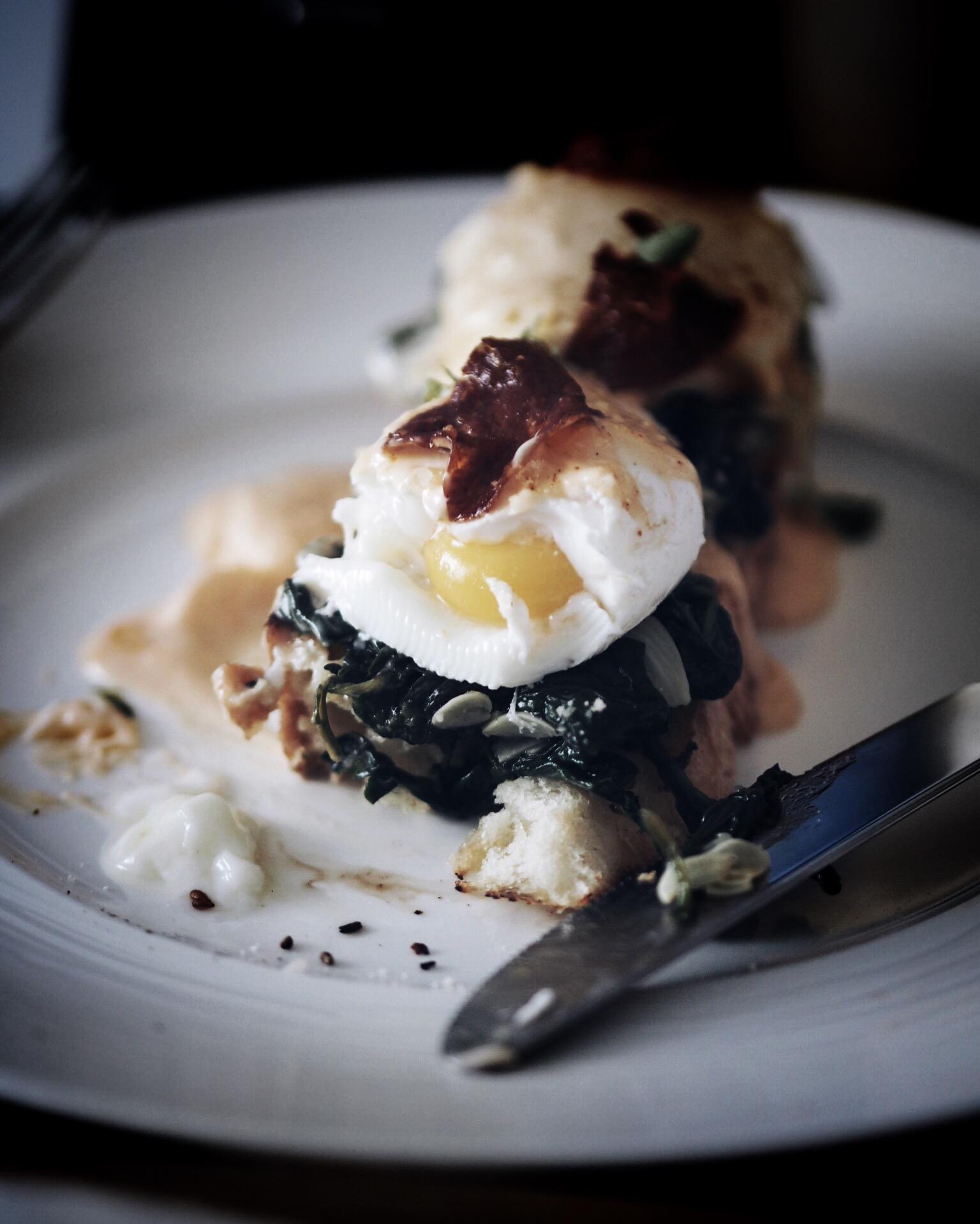 Den beste Eggs Benedict jeg har smakt.