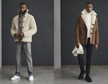 Reiss lookbook AW 18